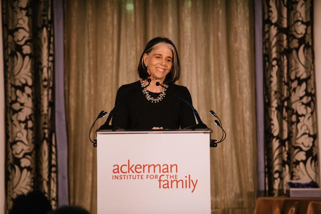 Lois Braverman on stage