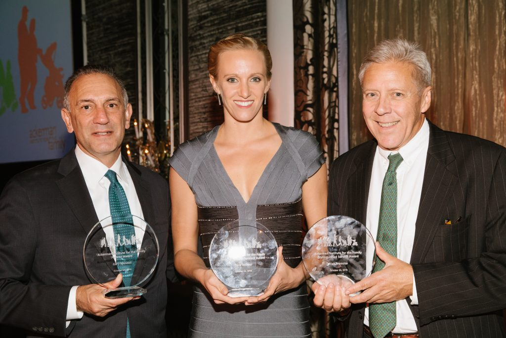 Honorees Gary Mendell, Dana Vollmer, and Blair Brewster