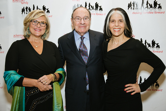 Cynthia McFadden, Arnold Syrop and Lois Braverman