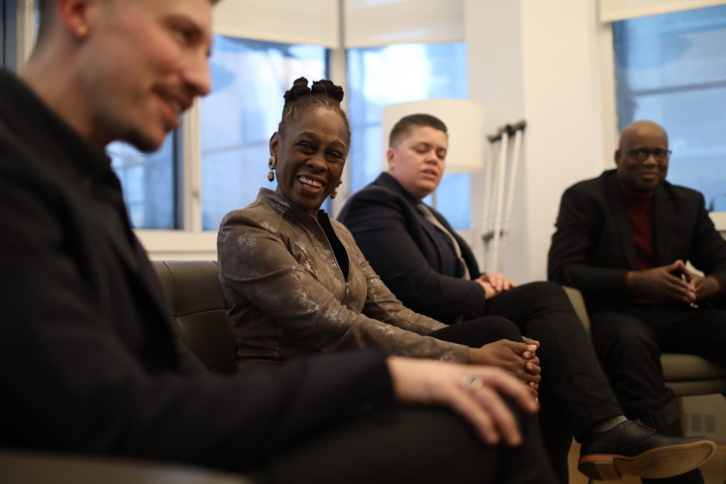 First Lady Chirlane McCray at the Ackerman Institute for the Family - Photo by Da Ping Luo Photography