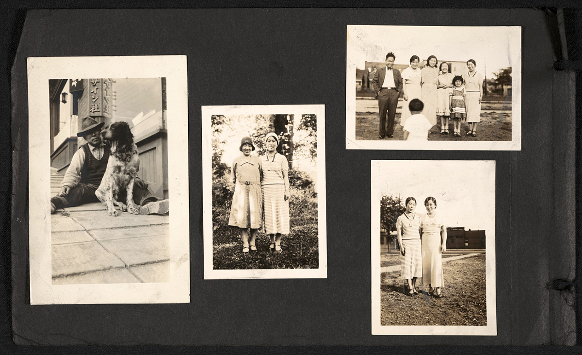 Tokita family photograph album, 192-?. Kamekichi Tokita papers, circa 1900-circa 2010, bulk circa 1910-1948. Archives of American Art, Smithsonian Institution.
