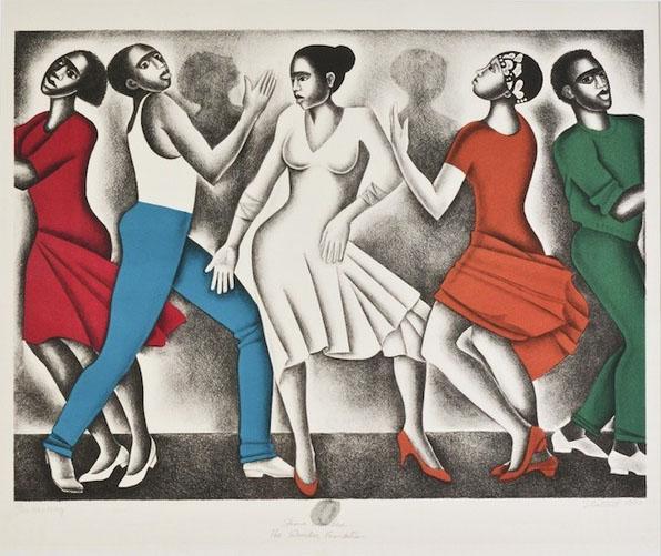 Elizabeth Catlett, Dancing
